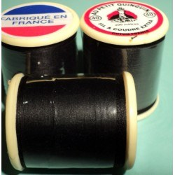 "Cotton Thread ""au petit quinquin"" 200m black"