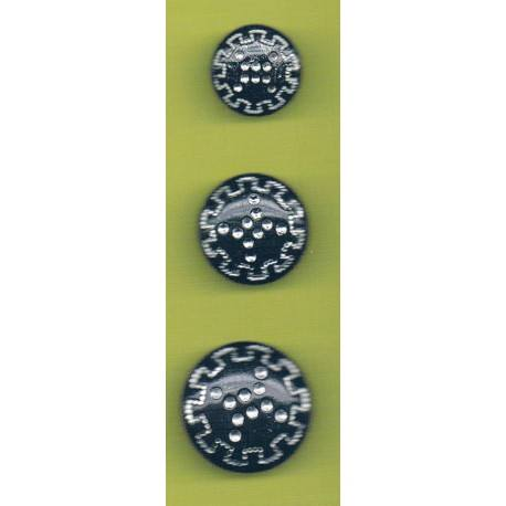 Button 25mm/22mm/18mm