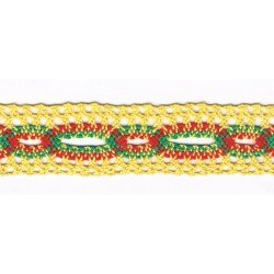 Crochet insertion Lace 25mm