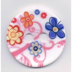 Decorative button 45mm