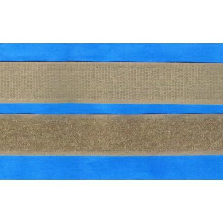 Hook and Loop sew-on 30cm beige