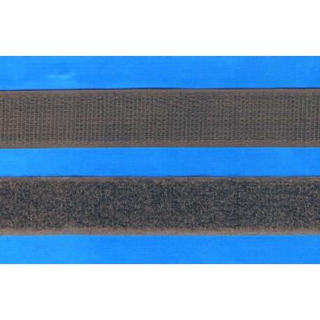 Scratch à coudre 30cm marron foncé