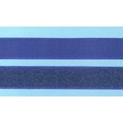Hook and Loop sew-on 30cm DARK NAVY BLUE 20mm