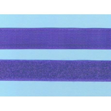 Hook and Loop sew-on 30cm violet