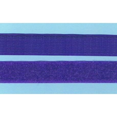 Scratch à coudre 30cm violet foncé