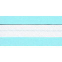 Ruban Biais 20mm Blanc