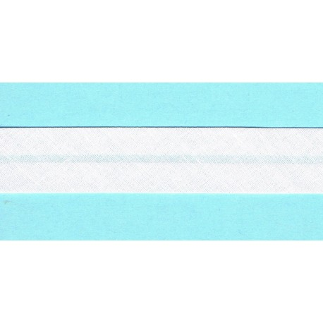 Bias Binding 20mm White