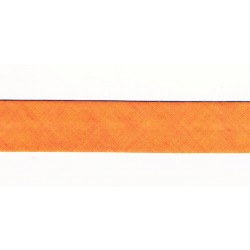 Ruban Biais 20mm Orange