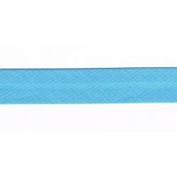 Ruban Biais 20mm Bleu turquoise
