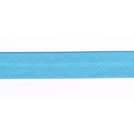 Bias Binding 20mm Blue