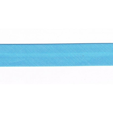 Ruban Biais 20mm Bleu
