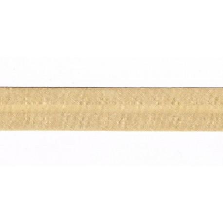 Ruban Biais 20mm Beige pâle