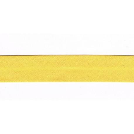 Bias Binding 20mm Yellow