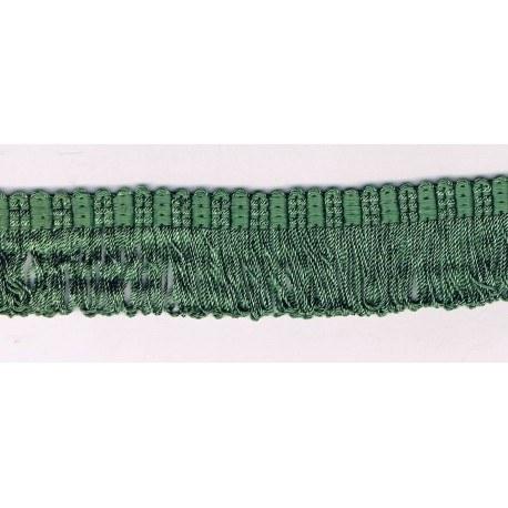 Galon Frange 30mm vert
