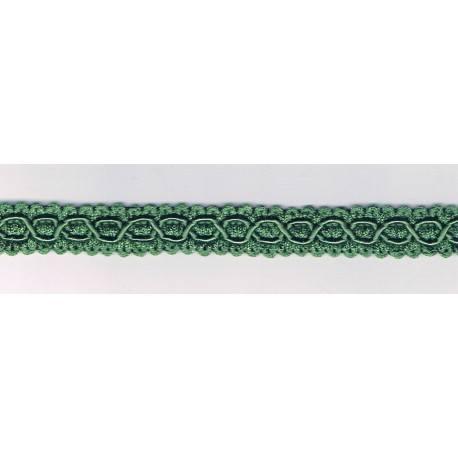 Galon Passementerie 16mm vert