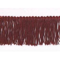 Fringe 40mm burgundy