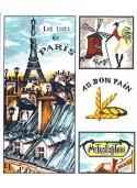 Les toits de Paris 40x50cm Aïda 7
