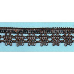 Brown crochet Lace 30mm