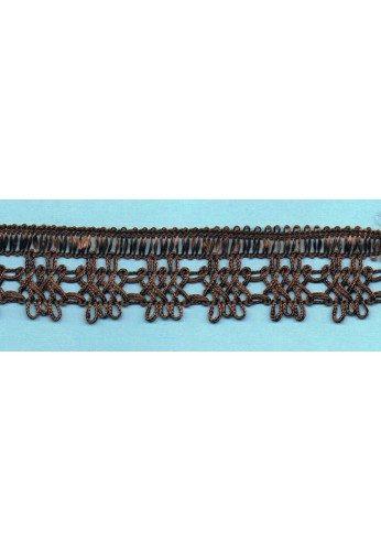 Brown crochet Lace 30mm