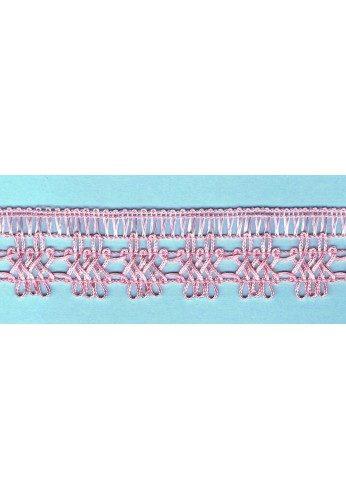 Pink crochet Lace 30mm