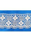 Naturel crochet Lace 85mm
