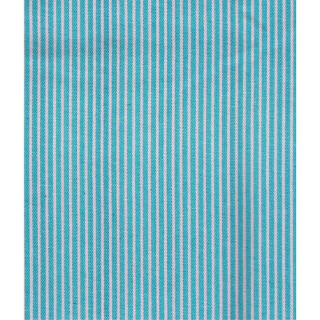 Denim Cotton woven stripes 100 x 70/75cm