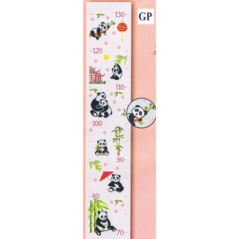 Growth Chart Pandas 16x24cm Ada 7