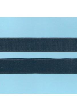 Scratch à coudre 30cm NOIR 25mm