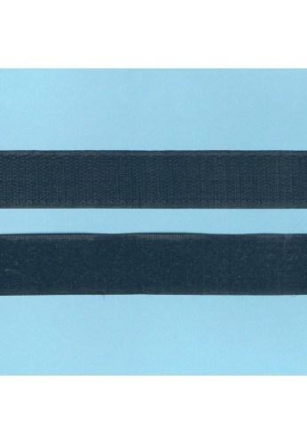 Hook and Loop sew-on 30cm BLACK 25mm