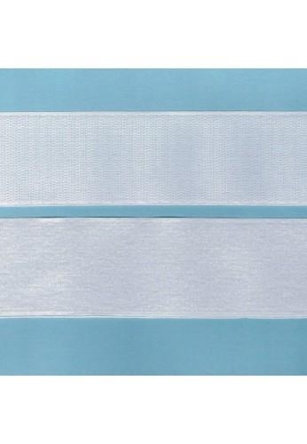 Scratch à coudre 30cm BLANC 50mm
