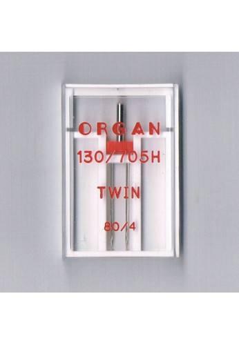Organ Double Aiguille pour la machine à coudre nº 80/4 STANDARD