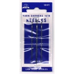 Yarn darners needles with point