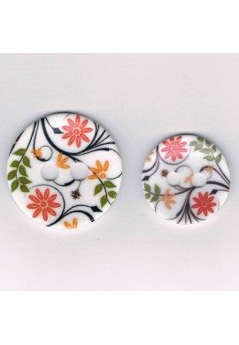 Bouton décoratif 35mm/45mm, Les fleurs
