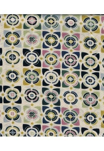 Patchwork fabric square 45x45cm