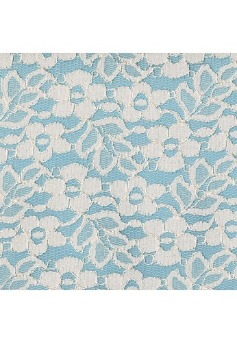 Fabric crafts 25x45cm Off-White Lace
