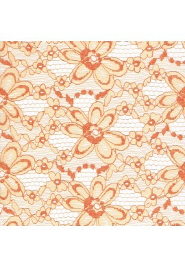 Fabric crafts 25x45cm Salmon Lace