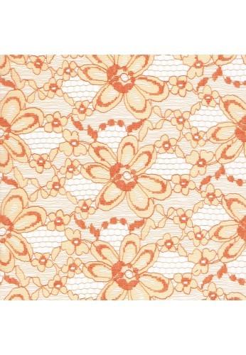 Fabric crafts 25x45cm Salmon Lace