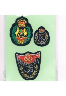 Patches Iron-on 3 pieces