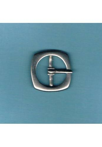 Square métal buckle 20mm silver