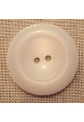 Coat Button off-white 43mm 2-holes
