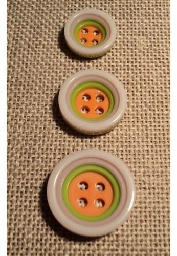 Button 4 holes lilac 12/15/18mm 4-trous