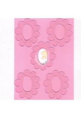 Ecussons Dentelle fleurs Photos 5 pieces à coudre ou à coller