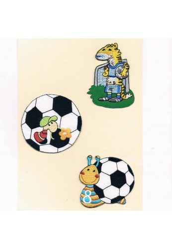 Patches Iron-on 3 pieces (the goal)