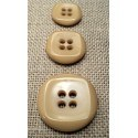 Button beige 15mm/18mm/23mm 4-holes