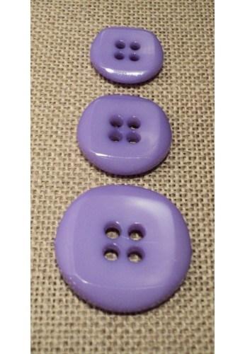 Button violet 15mm/18mm/23mm 4-holes