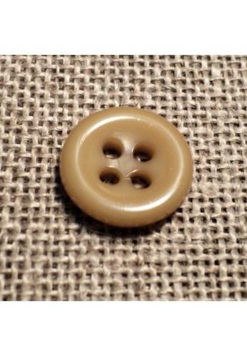 Bouton beige 11mm 4-trous Bouton Bébé, chemise, button down