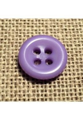Bouton mauve 11mm 4-trous Bouton Bébé, chemise, button down