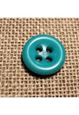 Bouton émeraude 11mm 4-trous Bouton Bébé, chemise, button down