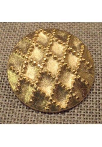 Coat Button gold 28mm
