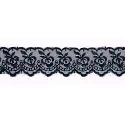 Black luxurious Lace 40mm